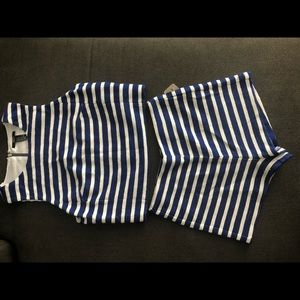 2-Piece Forever 21 Striped Set